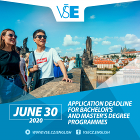 New application deadline for majority of international programmes – June 30. Admission process is on-line