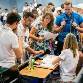 International students coming to study at VŠE are joining the Orientation Week /4.-10. 2./