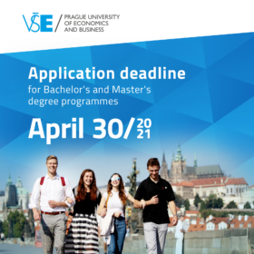 Join Prague University of Economics and Business. Applications are open until April 30