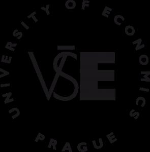 VŠE - logo černé - kulaté - English