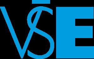 VŠE - logo modré