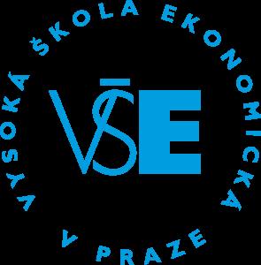 VŠE - logo modré - kulaté
