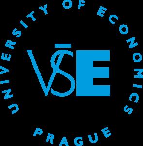 VŠE - logo modré - kulaté - English