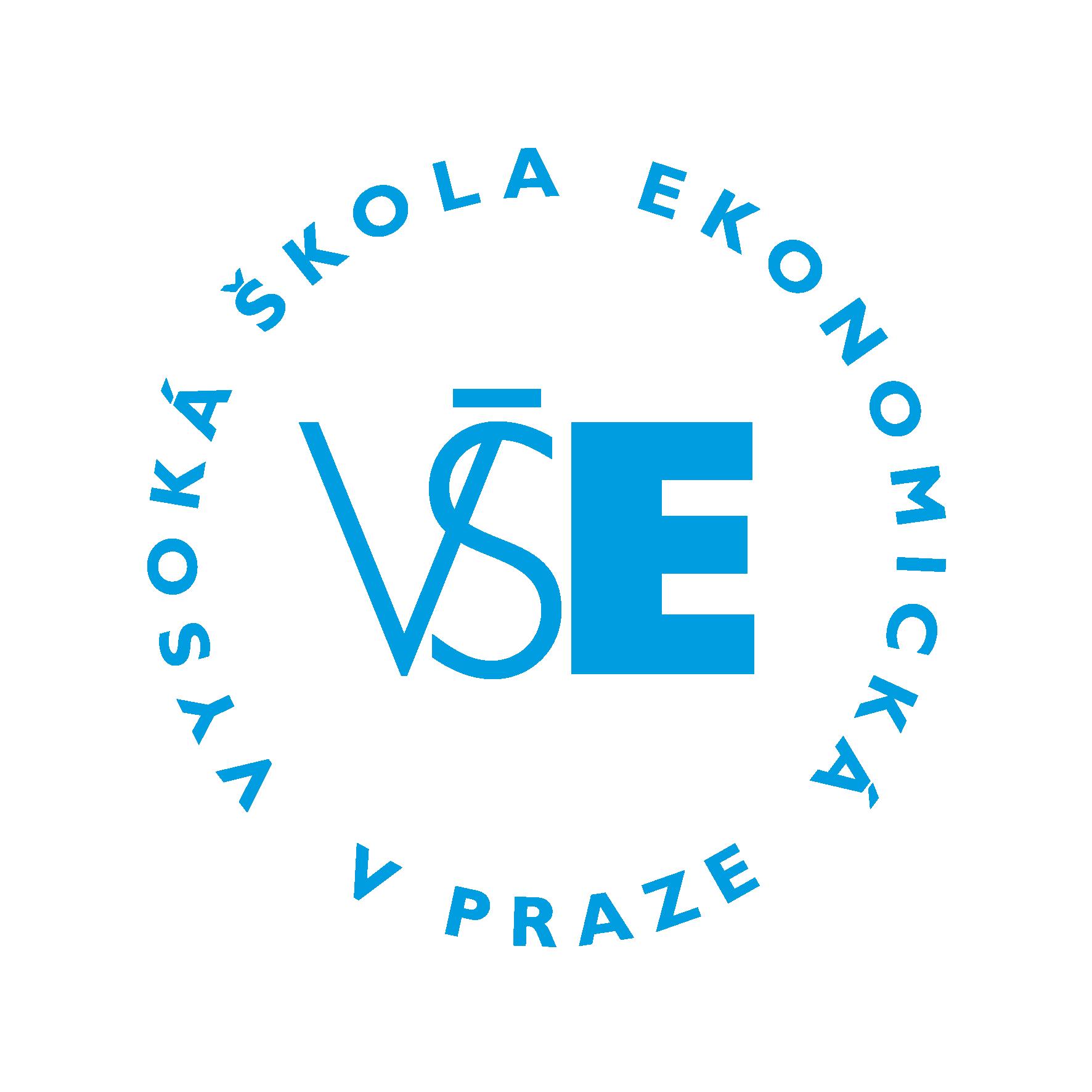 VŠE - logo blue - circle