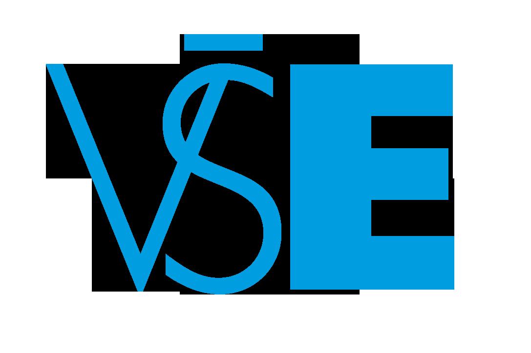 VŠE - logo blue - simple